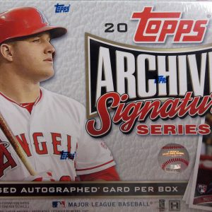 Topps Archives Signature Series Baseball Cards