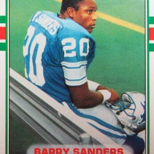 Barry Sanders Sports Card
