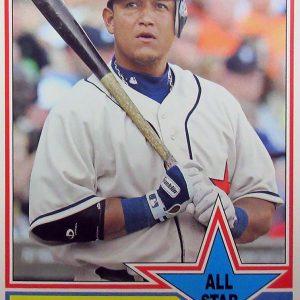 Miguel Cabrera Baseball Card